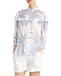 Paul & Joe - Blue Valentine Shirt - Lyst