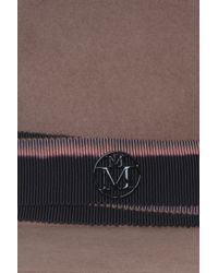 Maison Michel - Brown Thadee Fur-felt Hat - Lyst