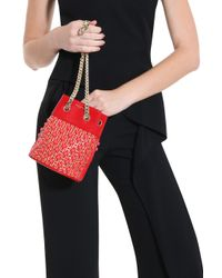 Elie Saab - Red Bucket Bag - Lyst