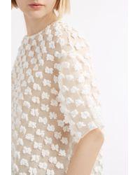 Rochas - White Fleur De Pouly Top - Lyst