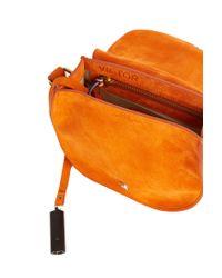 Jérôme Dreyfuss - Orange Victor Saddle Bag - Lyst