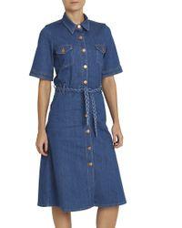 M.i.h Jeans - Blue 70's Denim Dress - Lyst