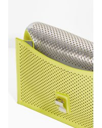 Proenza Schouler - Yellow Perforated Clutch Bag - Lyst