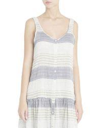 Lisa Marie Fernandez - Multicolor Striped Dress - Lyst