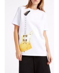 Acne Studios - Multicolor Eris Guitar Sweatshirt - Lyst