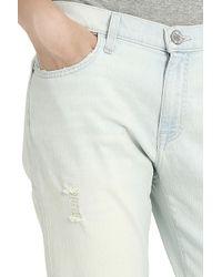 Current/Elliott - Blue Fling Ripped Jeans - Lyst