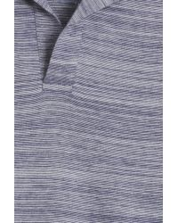Orlebar Brown - Blue Felix Striped Polo for Men - Lyst