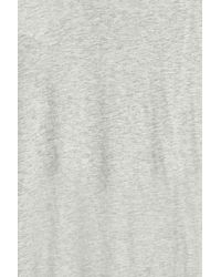 Orlebar Brown - Gray V-neck T-shirt - Lyst