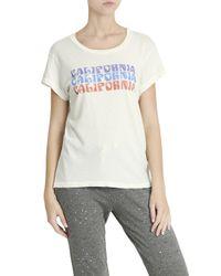Current/Elliott - Multicolor Crew Neck T-shirt - Lyst