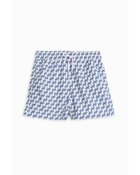 Frescobol Carioca - Blue Leme Sports Shorts for Men - Lyst