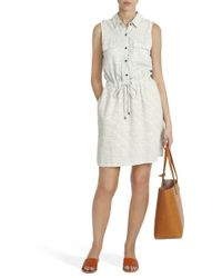 Splendid - Natural Cotton Striped Dress - Lyst