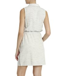 Splendid - Natural Cotton Striped Dress - Lyst