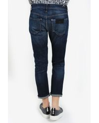 Citizens of Humanity - Blue Thompson Mid-rise Skinny Jeans - Lyst