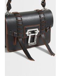 Proenza Schouler | Black Hava Whipstitch Cross-body Bag | Lyst