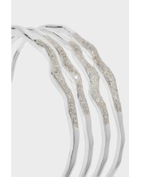 Monica Vinader - Multicolor Riva Diamond Hero Wave Cuff - Lyst