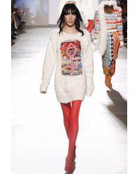 Missoni - Multicolor Intarsia Knitted Jumper - Lyst
