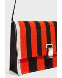 Proenza Schouler - Red Striped Crossbody Bag - Lyst
