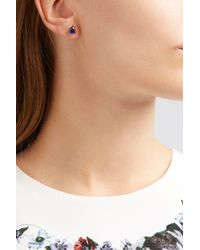 Fernando Jorge - Multicolor Bloom 18-karat Rose Gold Diamond And Amethyst Earrings - Lyst