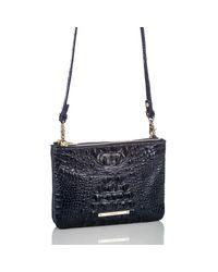 Brahmin - Blue Perri Leather Crossbody Bag - Lyst