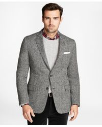 Brooks Brothers | Gray Regent Fit Brookstweed Herringbone Sport Coat for Men | Lyst