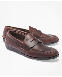 Brooks Brothers - Brown Rancourt & Co Casual Loafers for Men - Lyst