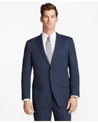 Brooks Brothers - Blue Madison Fit Stretch Cotton Suit for Men - Lyst