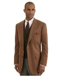 Brooks Brothers | Natural Madison Fit Two-button Cashmere Sport Coat for Men | Lyst