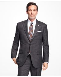 Brooks Brothers - Gray Golden Fleece® Madison Fit Stripe Suit for Men - Lyst