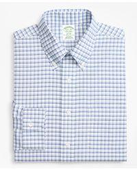 Brooks Brothers - Blue Brookscool Extra Slim Fit Slim-fit Dress Shirt for Men - Lyst