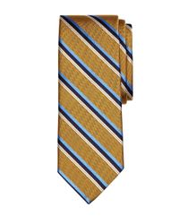 Brooks Brothers - Metallic Herringbone Sidewheeler Stripe Tie for Men - Lyst