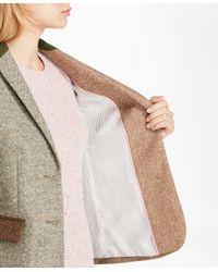 Brooks Brothers - Multicolor Patchwork Wool Tweed Jacket - Lyst