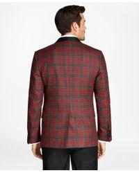 Brooks Brothers | Red Regent Fit Tartan Tuxedo Jacket for Men | Lyst