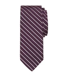 Brooks Brothers - Purple Mogador Stripe Tie for Men - Lyst