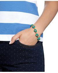 Brooks Brothers - Blue Enamel Knot Link Bracelet - Lyst