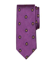 Brooks Brothers | Purple Golden Fleece® Crest Tie for Men | Lyst