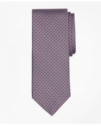 Brooks Brothers - Purple Chain Link Print Tie for Men - Lyst