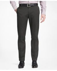 Brooks Brothers   Black Milano Fit Plain-front Lightweight Advantage Chinos® for Men   Lyst