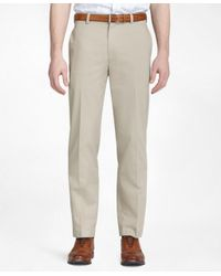 Brooks Brothers - Natural Clark Advantage Chinos® for Men - Lyst