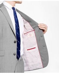 Brooks Brothers | Gray Sharkskin Suit Jacket for Men | Lyst