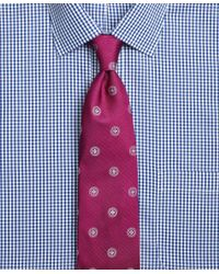 Brooks Brothers - Pink Textured Spaced Medallion Tie for Men - Lyst