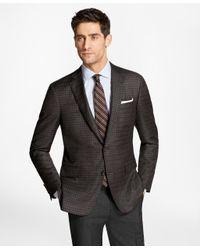 Brooks Brothers - Brown Regent Fit Multi-check Sport Coat for Men - Lyst