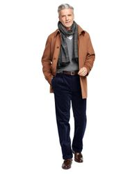 Brooks Brothers | Blue Thompson Fit Wide Wale Corduroys for Men | Lyst