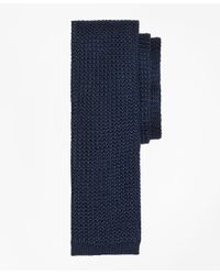 Brooks Brothers - Blue Textured Knit Tie for Men - Lyst