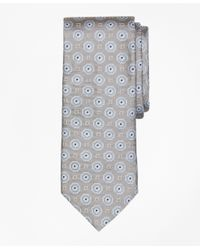 Brooks Brothers | Gray Large Medallion Tie for Men | Lyst