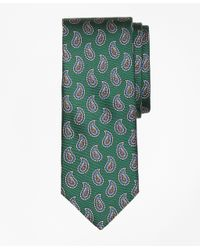 Brooks Brothers | Green Pine Print Tie for Men | Lyst