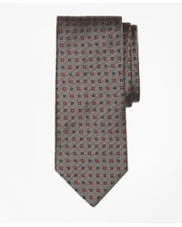 Brooks Brothers | Gray Multi-square Flower Tie for Men | Lyst