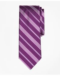 Brooks Brothers | Purple Tonal Music Stripe Tie for Men | Lyst