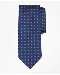 Brooks Brothers | Blue Framed Polka Dot Tie for Men | Lyst