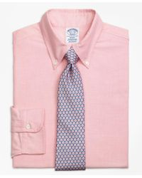 Brooks Brothers | Pink Regent Fit Original Polo® Button-down Oxford Dress Shirt for Men | Lyst
