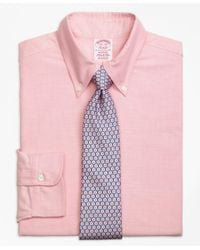 Brooks Brothers | Pink Madison Fit Original Polo® Button-down Oxford Dress Shirt for Men | Lyst